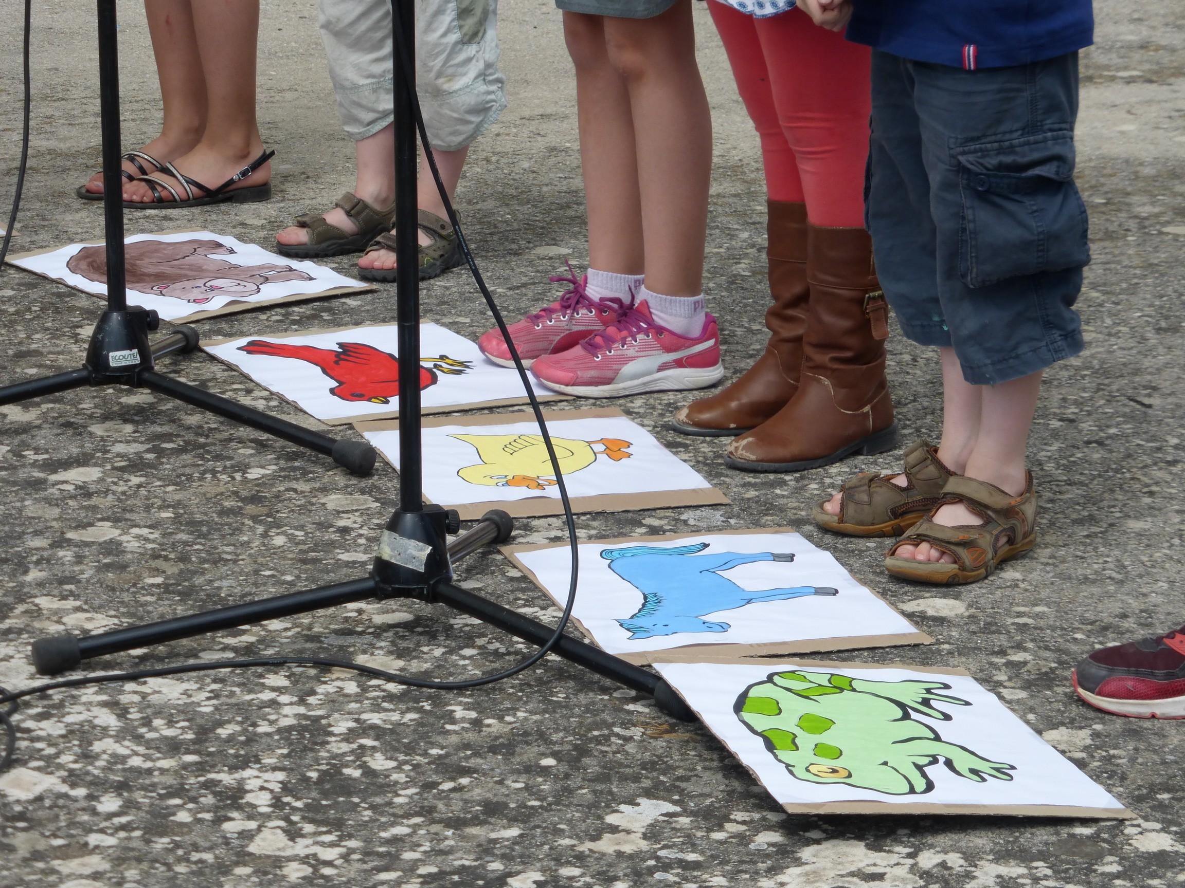 Enfants chant